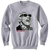 Photo de teesquare1st Men's Ray Charles Grey Sweatshirt XLarge Size