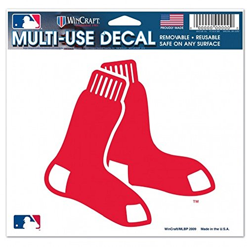 BOSTON RED SOX 5' X 6' Ultra Decal
