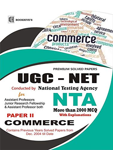 UGC NET NTA C@MMERCE 2020 FULLY SOLVED