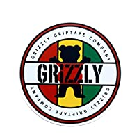 Grizzly Griptape グリズリー スケートボード skateboard sticker ステッカー GRIZZLY GRIPTAPE CAMPANY