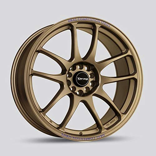 "16"" DRAG WHEELS DR31 16x7"" +40 OFFSET 4x100/4x114.3 RALLY BRONZE - SET OF 4"