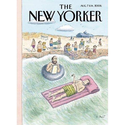 The New Yorker (Aug. 7 & 14, 2006) - Part 2 cover art