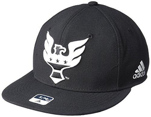 adidas da Uomo MLS SP17Fan Wear Oversized Logo Fvf cap, Uomo, MLS SP17 Fan Wear Oversized Logo FVF cap, Black