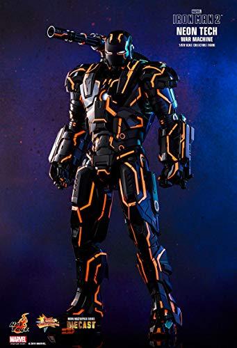 Hot Toys 1:6 Neon Tech War Machine Exclusive - Ltd Edition