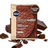 GU Energy Gofre de Chocolate Salado - Paquete de 16 x 30 gr - Total: 480 gr