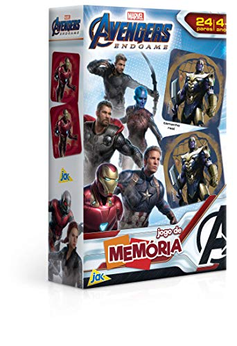 Os Vingadores Ultimato - Jogo de Memoria, Toyster Brinquedos, Multicor