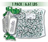 Fida Hard Italian Candy Bulk Bag, Glacia Mint, 6.61 Pound
