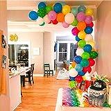 Zoom IMG-2 palloncini colorati e pompa 100