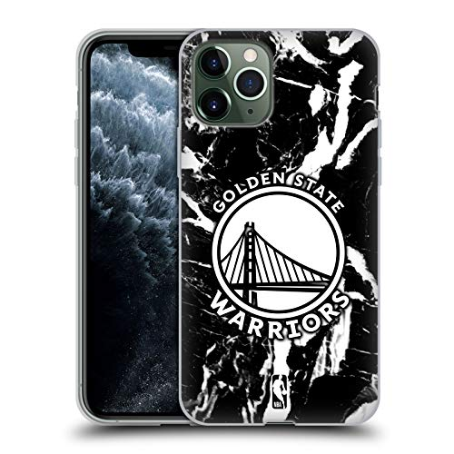 Head Case Designs Oficial NBA Mármol 2019/20 Golden State Warriors Carcasa de Gel de Silicona Compatible con Apple iPhone 11 Pro