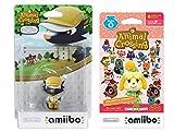 Kicks Amiibo (Animal Crossing Series) for Nintendo Switch - WiiU, 3DS Bonus 1-Pack (6 Cards/Pack) (Bundle)