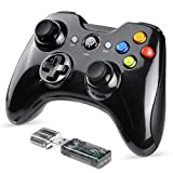 EasySMX Joystick, Controller Wireless, KC-8236 Gamepad Wireless 2.4G, Doppia Vibrazione, 8 Ore di Riproduzione per Telefoni PS3 / PC/Android, Tablet, TV Box