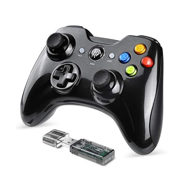 EasySMX-Manette-PC-sans-Fil-Connecte-avec-USB-Manette-PS3-avec-Dual-Shock-Compatible-pour-PC-Windows-XPVista-Windows-788110-PS3-AndroidVia-OTG