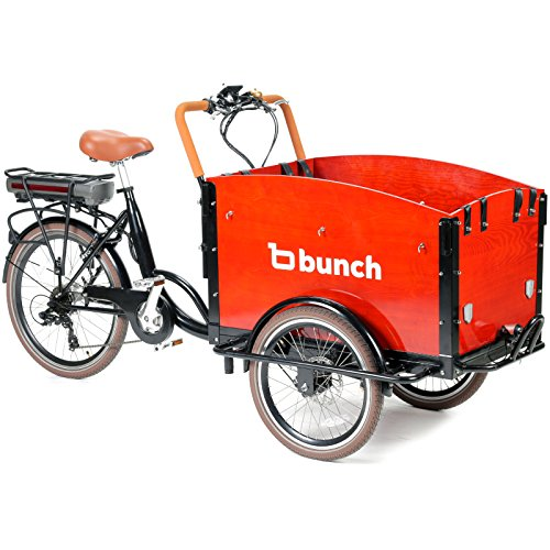 Family Cargo Bike By Bunch Bikes