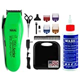 WAHL Lithium Ion Pro Series Cordless Animal Clippers – Rechargeable Quiet Low Noise Heavy-Duty Electric Dog & Cat Grooming Kit for Small & Large Breeds with Thick & Heavy Coats (Lime)