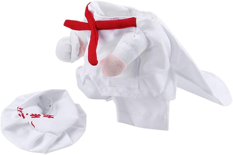S Koch Uniform f/ür Haustier Hund Katze s/ü/ß Haustier Hund Katze Kleidung lustig Fancy Kost/üm Welpen Koch Uniform Mantel Haustier Zubeh/ör, Standard