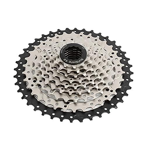 favourall 8/9/10/11-velocidad Cassette de bicicleta 11-52T Cassette de rueda libre para bicicleta de montaña Racing Bike MTB, alta resistencia variable engranaje accesorios de reemplazo de bicicleta