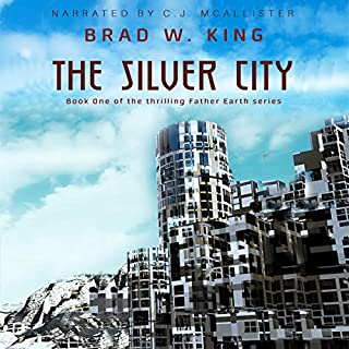 The Silver City audiobook cover art