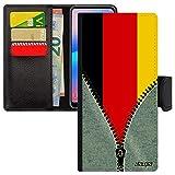 utaupia Coque Rabat pour Redmi Note 9 Pro Portefeuille Porte Cartes Drapeau Allemagne Allemand...