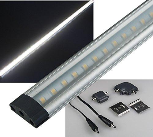 LED Unterbau Küchenleuchte 80cm 9 Watt 680 Lumen I Alu Gehäuse I Ideal für Küchenschrank Regal Hängeschrank I Neutralweiß