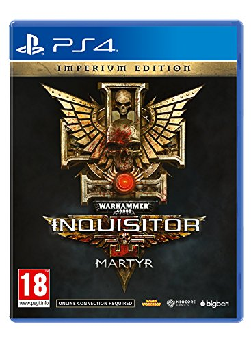 Warhammer 40K Inquisitor Martyr - Imperium Edition - PlayStation 4 [Importación inglesa]