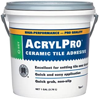 Custom Building Products 4000 Acrylic Ceramic Tile Mastic, 1-Gallon