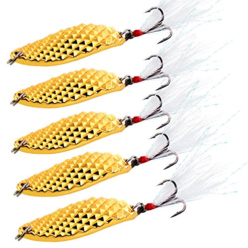 Sougayilang Spoons Hard Fishing Lures