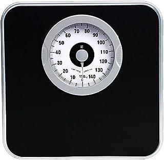 Básculas analógicas para el hogar, báscula analógica de precisión para el Cuerpo, báscula de marcación de Peso Saludable, báscula de Resorte, báscula médica de Uso Dual bariátrica, 150 KG, Negro