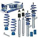 JOM Car Parts & Car Hifi GmbH 741051 Blueline Gewindefahrwerk für Golf 5 1K Baujahr 2003-2008