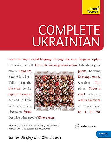 Compare Textbook Prices for Complete Ukrainian Beginner to Intermediate Course: Learn to read, write, speak and understand a new language Teach Yourself 1 Edition ISBN 9781444104134 by Bekh, Olena,Dingley, James