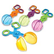 Learning Resources Handy Scoopers, Fine Motor Toy, Scissor Skills, Assorted Colors, Set of 4, Ages 3+