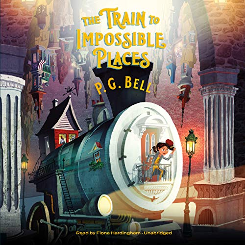 The Train to Impossible Places, Book 1: A Cursed Delivery                   By:                                                                                                                                 P. G. Bell                               Narrated by:                                                                                                                                 Fiona Hardingham                      Length: 7 hrs and 40 mins     18 ratings     Overall 4.3