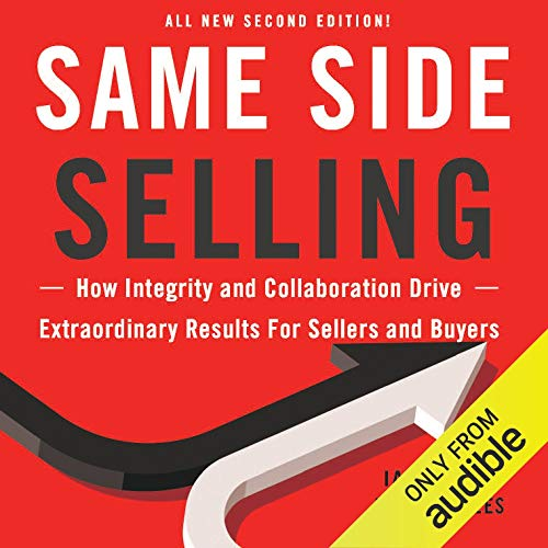 Same Side Selling audiobook cover art