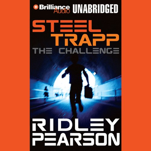 Steel Trapp audiobook cover art