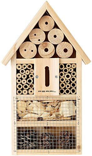 PEARL Insektenhaus: Insektenhotel-Bausatz, Nisthilfe und Schutz für Nützlinge (Nistkasten Bausatz)