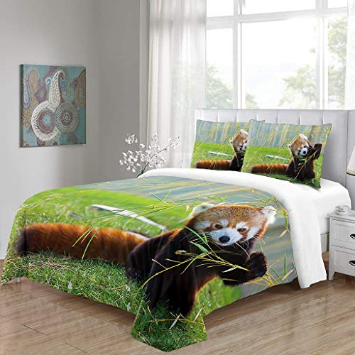 URVIP 3 Pieces Bedding Comforter Covers Sets Lion Dog Horse Fish Tiger Sea Turtle Bed Set Animal 3D Printed Duvet Covers with 2 Pillow Shams Multi-07 GB-King