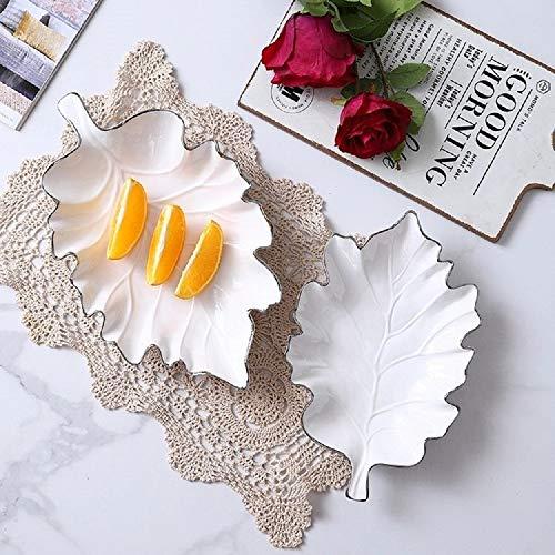 Zellerfeld Premium Design Snackschale Knabberschale Porzellan Cerezlik Service Dessert Dips, weiß