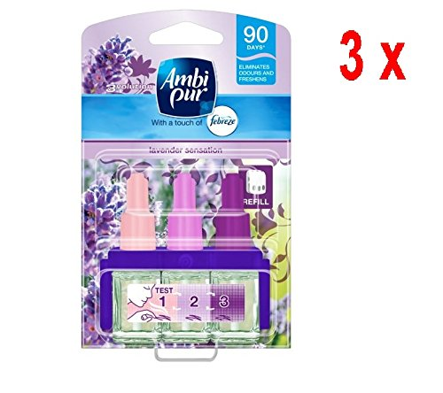 '3 x Ambi Pur 3 Volution Recharge \