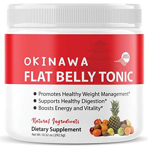 Okinawa Flat Belly Tonic Powder Drink Japan Supplement Reviews (10oz)