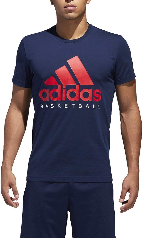 kurzrmelig Tee Graphic Basketball Herren Adidas