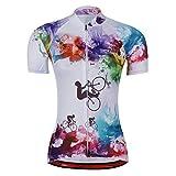Women's Cycling Jersey Beautiful Bike Bicycle Clothing Shirt Jacket...