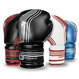 Sanabul Core Series Gel Boxing Kickboxing Training Gloves (Gun Metal, 8 oz)