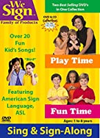 Fun Time and Play Time: Sign & Sing Along [DVD]