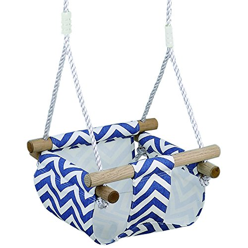 HAPPY PIE PLAY&ADVENTURE Infant to Toddler Secure Hanging Swing Seat Indoor and Outdoor Hammock Toy  - coolthings.us