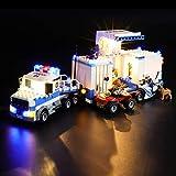 LIGHTAILING Conjunto de Luces (City Centro de Control Móvil) Modelo de Construcción de Bloques - Kit de luz LED Compatible con Lego 60139 (NO Incluido en el Modelo)