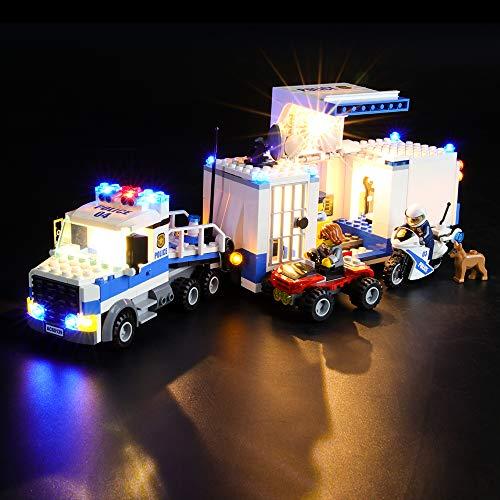 LIGHTAILING Jeu De Lumières pour (City Le Poste de Commandement Mobile) Modèle en Blocs De Construction - Kit De Lumière A LED Compatible avec Lego 60139(Ne Figurant Pas sur Le Modèle)