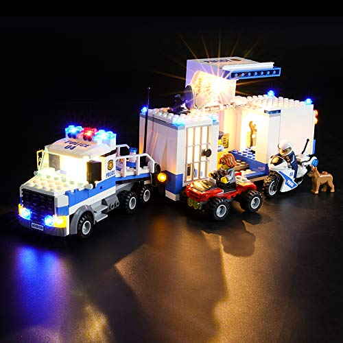 LIGHTAILING Licht-Set Für (City Polizei Mobile Einsatzzentrale) Modell - LED Licht-Set Kompatibel Mit Lego 60139(Modell Nicht Enthalten)