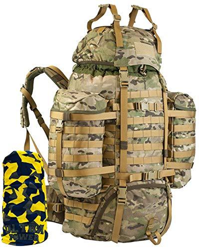 Wisport Trekkingrucksack Damen & Herren | Backpacker Weltreise I Work Travel Rucksack für...
