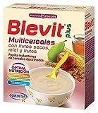 Blevit Plus Multicereales con Frutos Secos, 1 unidad 600 gr. Cereales infantiles. A partir de los 6 meses