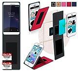 Hülle für Coolpad Porto S Tasche Cover Case Bumper | Rot
