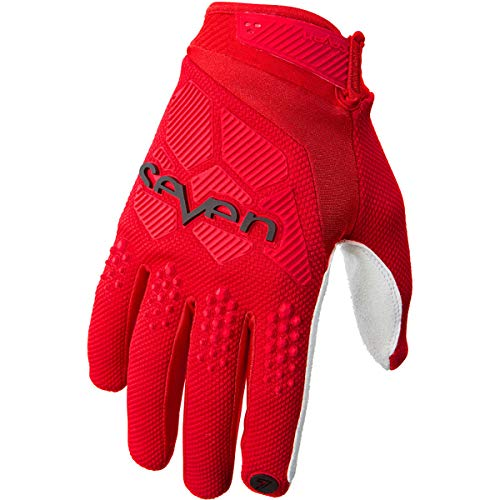 Seven MX Fluorescent Yellow 2018 Rival MX Gloves